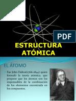 El átomo. Estructura. Número atómico y Masa atómica. Isotopos. Modelos Atómicos. Radiación Electromagnética. Problemas de aplicación.