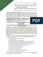 reglamento de la adm. Federal