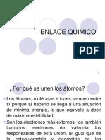 Enlace químico. Electronegatividad y enlace químico