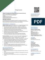 resume online portfolio