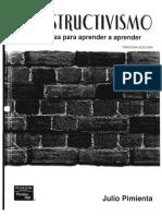 97271176 Constructivismo Estrategias Para Aprender a Aprender Julio Pimienta