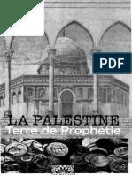 La palestine terre de prophétie