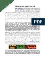 Tips Hindari Agen Poker Online Abal Abal | Gogopoker99