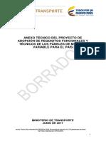 VMS-Requisitos Técnicos y Funcionales
