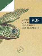 Andrus Kivirähk - L'Homme Qui Savait La Langue Des Serpents (R. Litt 2013)
