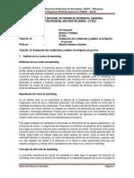 Tema No Vi Evaluacion Del Rendimiento y Analisis de La Fijacion de Precios