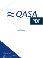 QASA Strategic Consulting - Company Profile