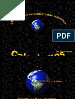 Velocidad de La Tierra - MN