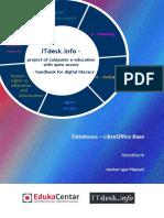 Handbook Databases Libreoffice Base