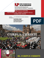 Diapositivas Corpus Christi - Historia de La Cultura