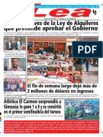 Periódico Lea Martes 16 de Octubre Del 2018