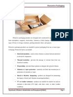 Forms of Protective Packaging