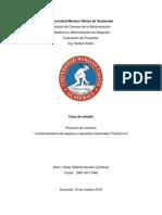 Analisis de Caso Comercializadora de Equipos y Repuestos Industriales Pump&Seal
