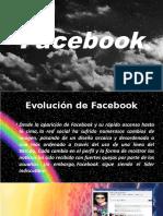 Evolucion de Facebook