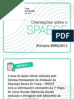 Slides Da Portaria 0998 - SPAECE