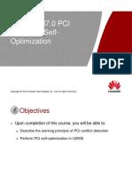 30 LTE ERAN7.0 PCI Conflict Detection&Self-Optimization