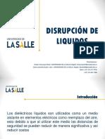 Disrupcion de Liquidos