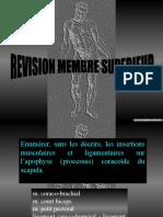 Revision Membre Sup t5