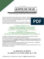 Le Hadith Du Nejd