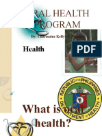Oral Health Program
