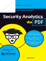Security Analytics for Dummies Securonix