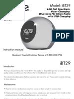 IBT29 User Manual