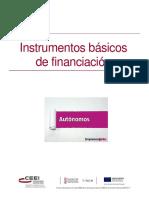 Manual para Autónomos- Instrumentos básicos de financiación.pdf