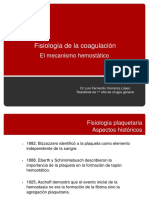 Fisiologia de La Coagulacion