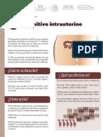 Dispositivo Intrauterino Ficha Informativa