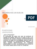 Mecanica de Suelos Plasticidad