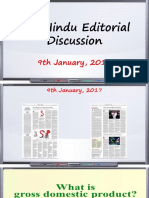 9 Jan,The Hindu Editorial Discussion