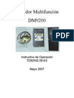 INSTRUCTIVO OPH DM9200