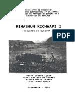 Coombe. Lynch y Otros; Hablemos en Quechua I, Ministerio de Educación, Cajamarca, Perú