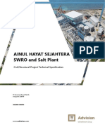 Civil Structural Project Technical Specification