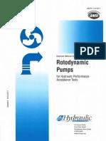 ANSI_HI 14.6-2011 Rotodynamic Pumps Hydraulic Performance Tests