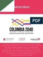 Proceedings - Conferencia Colombiana 2040