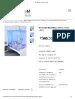 Buy Mosquito Net Online _ GeM