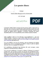 Les 4 Bases (Cheikh Mohammed Ibn Wahhab