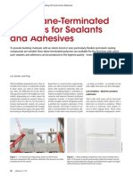 Silane-Terminated Polymers for Sealants