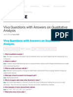 Viva Questions with Answers on Qualitative Analysis - Learn CBSE.pdf