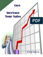100 Ways to Increase Sales