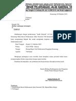 contoh Undangan Audit Internal LAB