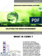 Gaseous CEMS Technology Selection and Operation & Maintenance