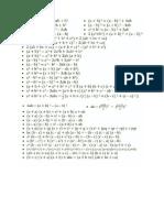 Formule de Matematica