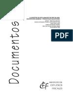 La Muestra de Declarantes de Irpf en 2006