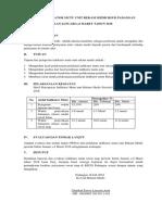 Form Laporan Indikator Mutu Unit