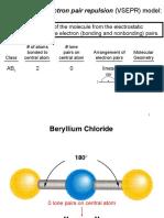 Chapter 6 -Chemical Bonds-Vsepr