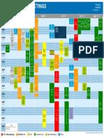 2018 Annual Meetings Tentative Schedule