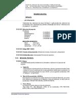 CREACIÓN DEL SERVICIO DE AGUA POTABLE Y AMPLIACIÓN DEL SERVICIO DE ALCANTARILLADO  SANITARIO DEL BARRIO URUBAMBA SECTOR 20 - PROVINCIA DE CAJAMARCA - CAJAMARCA