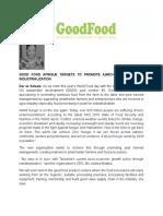 Good Food Afrique-Press Release-Final